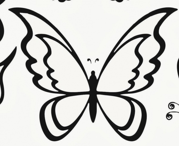 Desenhos Para Colorir Borboletas – Pampekids Net