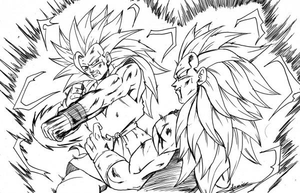 Desenhos Dragon Ball Z Para Imprimir