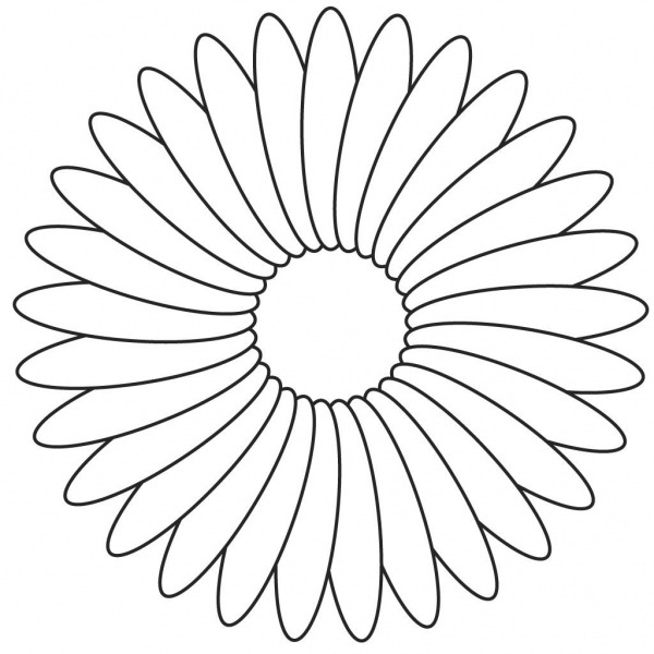 Flores Para Colorir E Imprimir