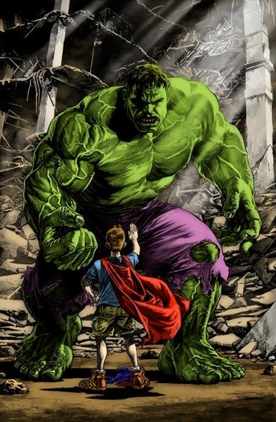 Artcolor Comics  Hulk  Desenho De Lee Bermejo  Pintado Por  R Andrade