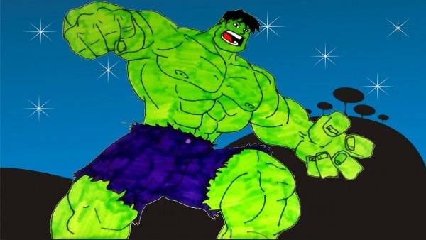 Incrivél Hulk Desenho Completo Português 2016 Desenho Hulk Nervoso
