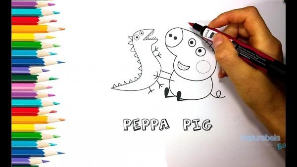 Imprima E Pinte Peppa Pig   Desenhos Para Crianças Colorir