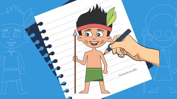 Como Desenhar Um Indio Passo A Passo