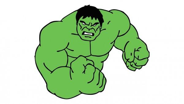 Como Desenhar O Hulk (o Incrível Hulk, Os Vingadores)