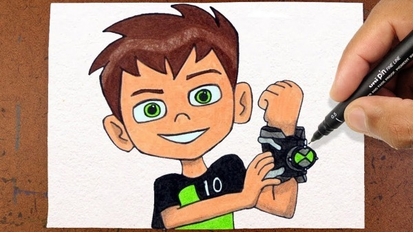Como Desenhar Ben 10 Cartoon Network Studios