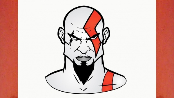 Comment Dessiner Kratos De God Of War