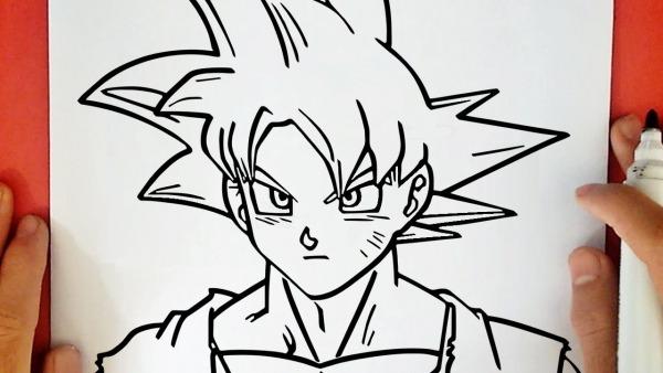 Como Desenhar O Goku Ssj Deus