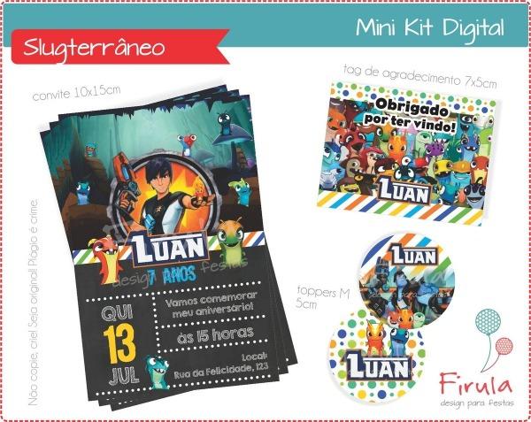 Mini Kit Digital Slugterrâneo No Elo7