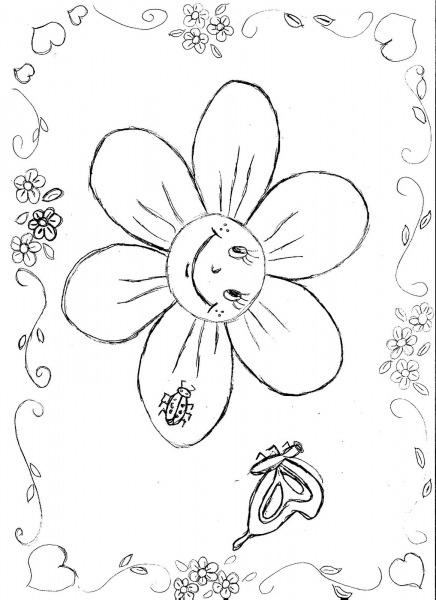 Desenhos Para Colorir Flores Primavera
