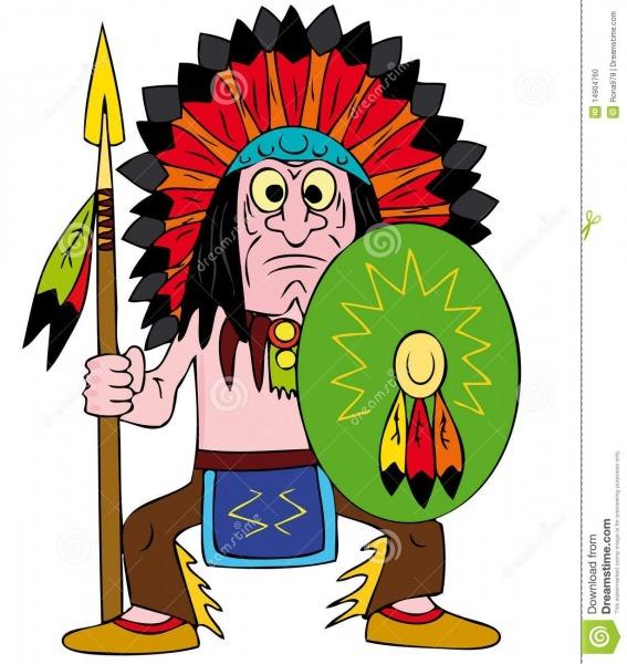 Soldado Indio Ilustración Del Vector  Ilustración De Adulto