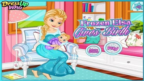 Bebe Frozen Elsa