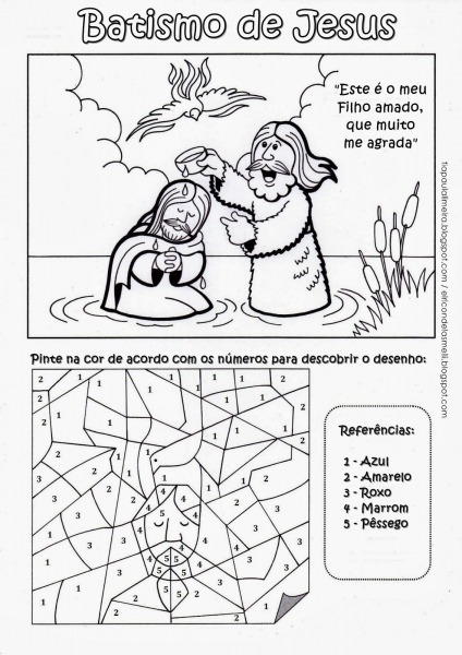 Tia Paula  O Batismo De Jesus