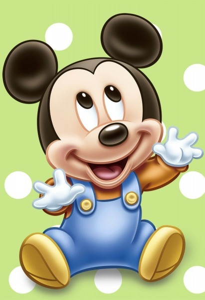 Mickey Mouse Baby Poster