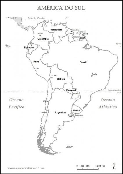 Resultado De Imagem Para Planisfério Com As Principais Capitais Do