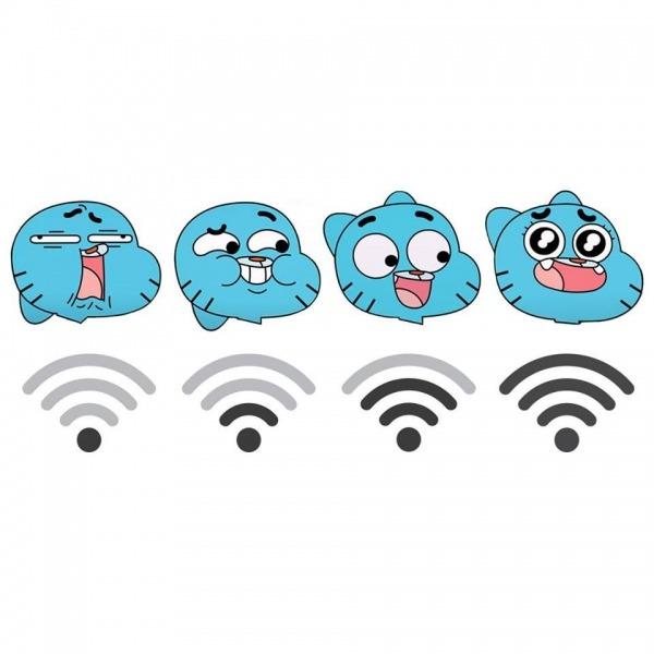 Amazing World Of Gumball Wifi Emotions