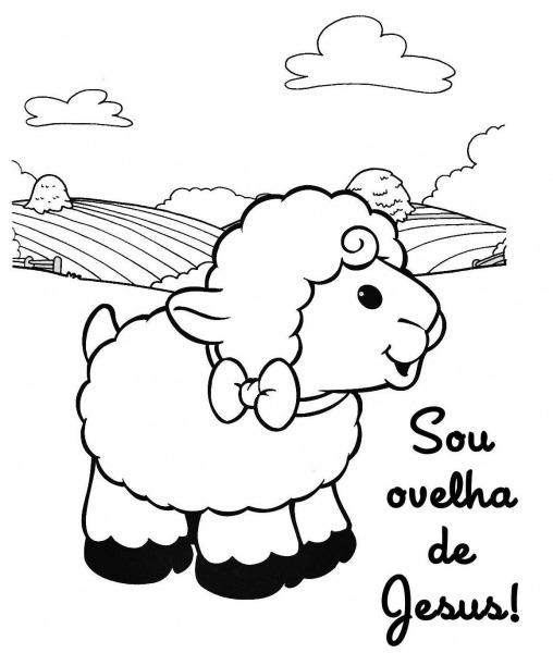 70 Desenhos De Ovelhas – Ovelhinhas De PÁscoa