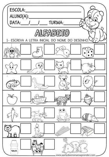 Desenhos Do Alfabeto   Mediabix Com   Inspiração De Design Para