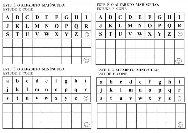 Alfabeto Para Imprimir Maiusculo