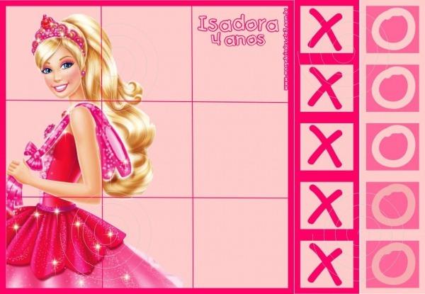 Barbie Sapatilhas Mágicas Jogo Velha No Elo7