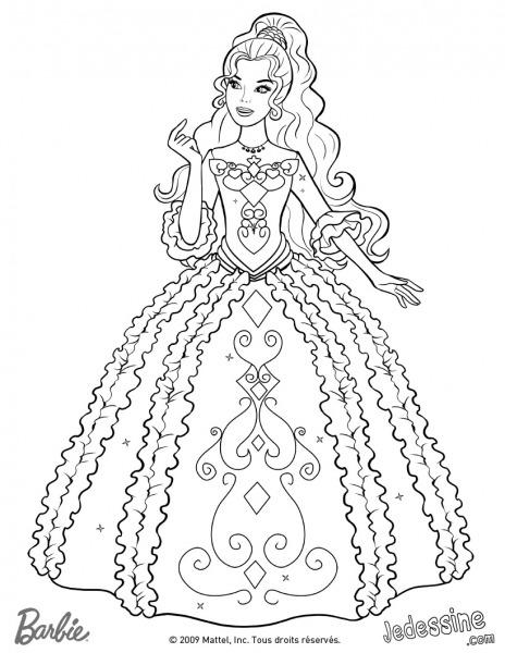 Jogos De Colorir Desenhos Da Barbie – Pampekids Net