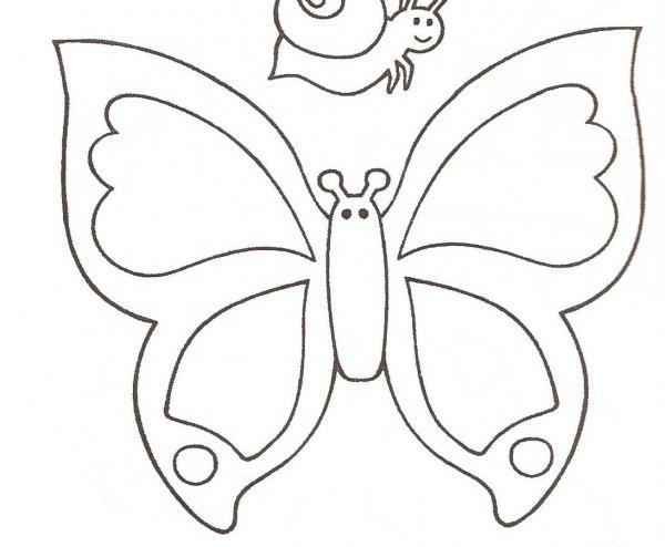 Desenho De Borboletas Para Imprimir
