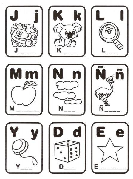 Loteria De Alfabeto Para Imprimir