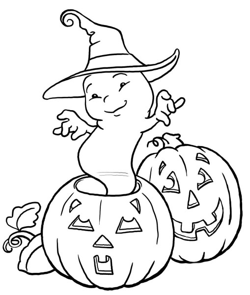 Desenhos Para Colorir Do Halloween – Pampekids Net