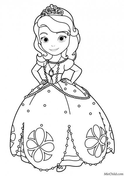 Desenhos De Princesas Para Colorir E Imprimir Grátis!