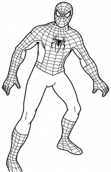 Spiderman Coloring Pages Spiderman Coloring Pages Coloring Kids