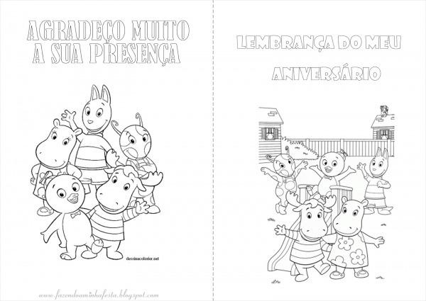 Desenhos Para Colorir Dos Backyardigans – Pampekids Net