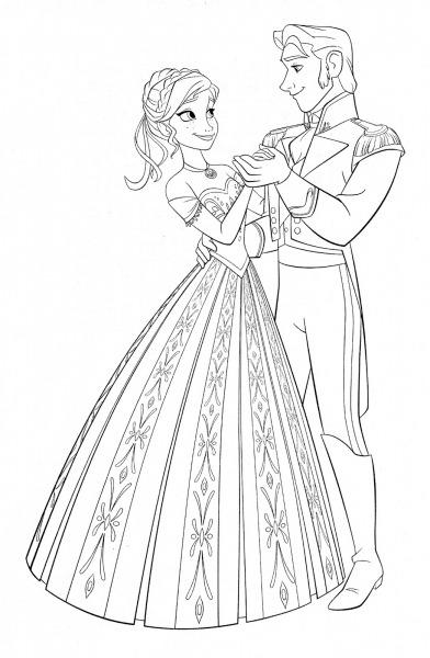 Desenhos Para Colorir Da Elsa Frozen – Pampekids Net