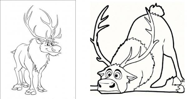 Desenhos Para Colorir Frozen E Imprimir – Pampekids Net
