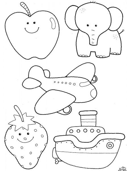 Desenhos Para Colorir De Animais Fofos – Pampekids Net