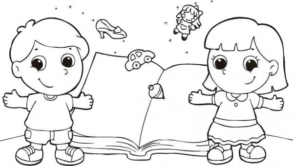 Dibujos Ideia Criativa Desenho Do Dia Do Livro Infantil Para