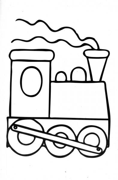 Dibujos Ideia Criativa Meios De Transporte Pra Colorir – Pampekids Net
