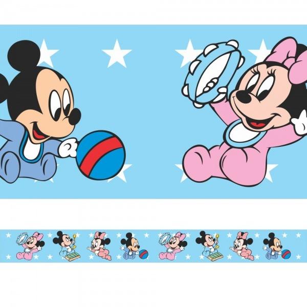 Faixa   Border Mickey E Minnie Baby No Elo7