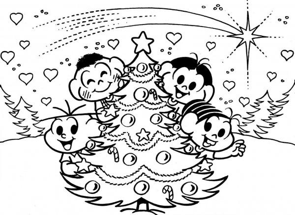 Jogos De Colorir De Natal – Pampekids Net