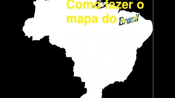 Como Fazer O Mapa Do Brasil