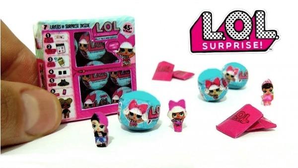 Como Fazer Boneca Lol Caseira Surpresa Miniatura Para Barbie Kit
