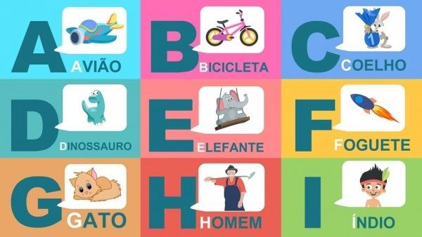 Vamos Aprender Algumas Palavras Com As Letras Do Alfabeto