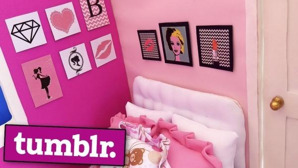 Quadros Tumblr Da Barbie
