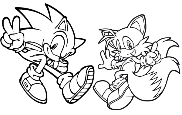 Fotos Do Sonic Para Colorir