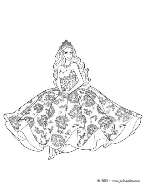Desenhos Para Colorir Barbie Eo Portal Secreto