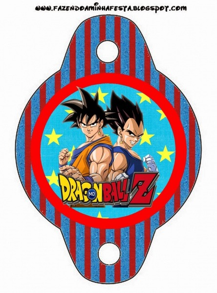 Dragon Ball Z Free Party Printables