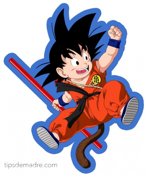 Un Cumple De Dragon Ball Z Â¡kame Hame Ha!