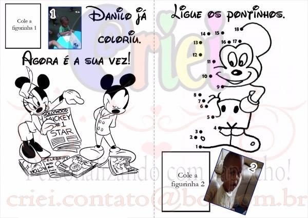 Álbum De Figurinhas + Revista Colorir + Livro De Atividades