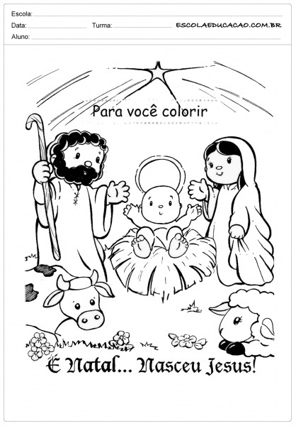 Atividades De Natal Para Imprimir Para Você Colorir
