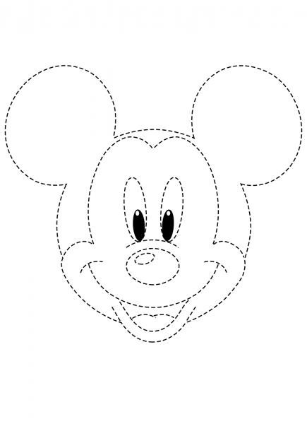 Desenhos Pontilhados Para Imprimir – Pampekids Net