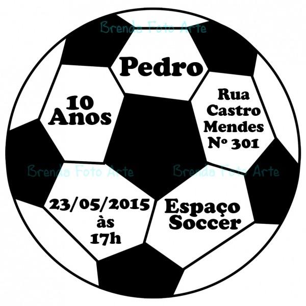 Desenho De Bola De Futebol Para Imprimir
