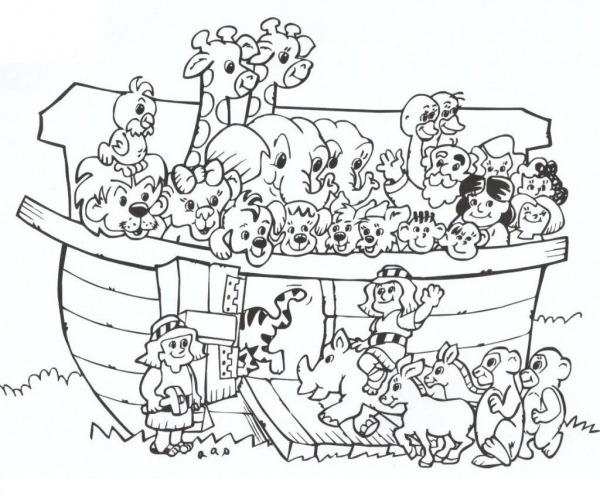 20 Modelos E Imagens De Desenhos Para Colorir A Arca De Noé